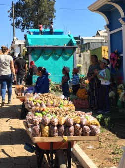 Food Stall in Cemetary