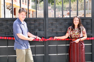 Travis and Norma, Ribbon-Cutting Ceremony