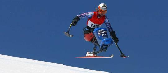 Chris Skiing