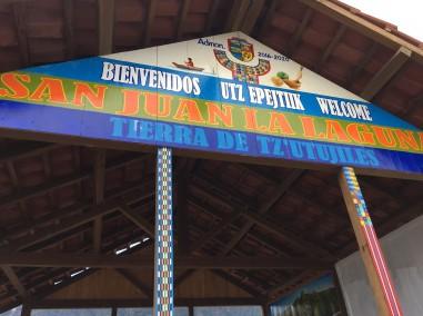 Entry port to San Juan