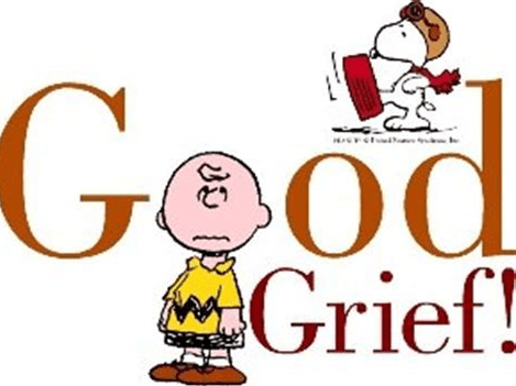 charlie brown good grief