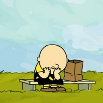 Charlie Brown by Charles Schulz