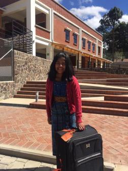 Ester Leaving School for UAE