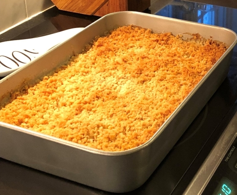 Nancy's famous mac and cheese