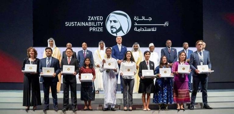 zayed prize