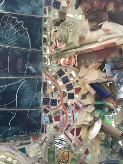 Exploring at Philadelphia's Magic Gardens