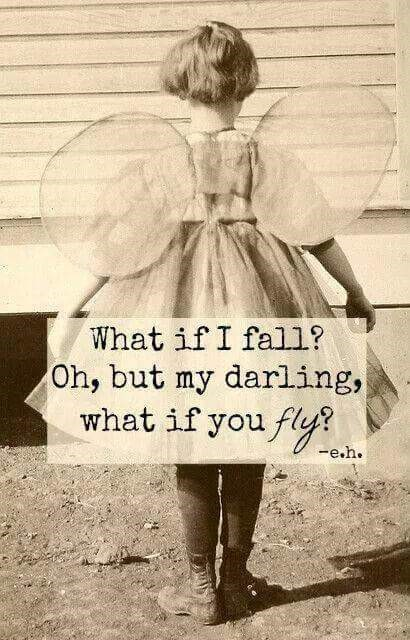 What if I fall quote