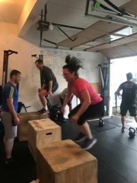 Box jump extravaganza