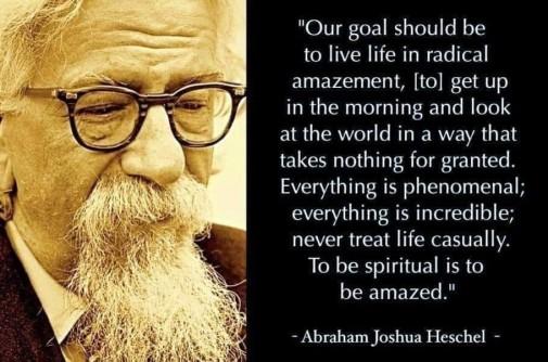 Heschel quote
