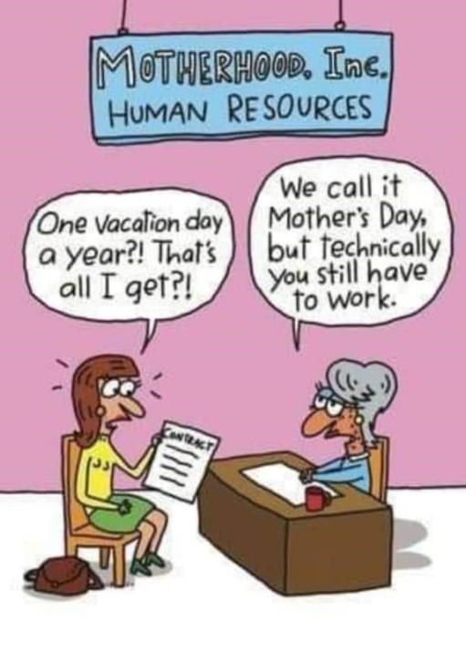 Motherhood Cartoon