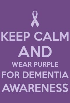 Keep Calm and Wear Purple
