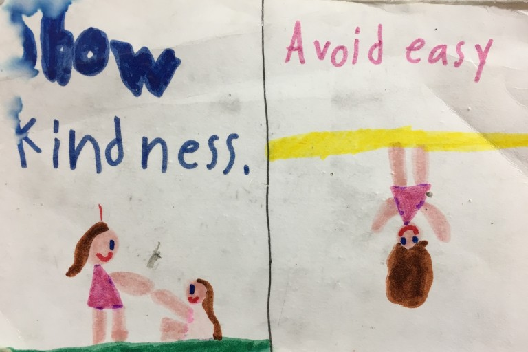 Show Kindness Avoid Easy
