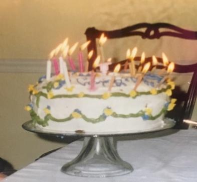 Beth's Famous Birthday Cake