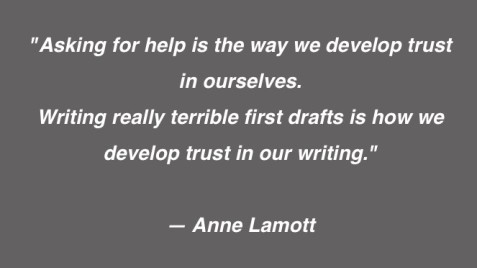 First draft Anne Lamott
