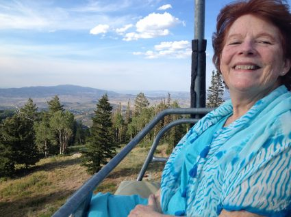 My Beautiful Mom on Top of the World
