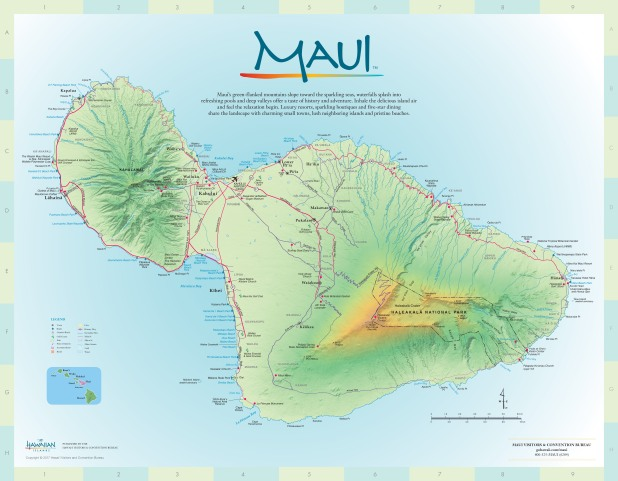 Molokai Map