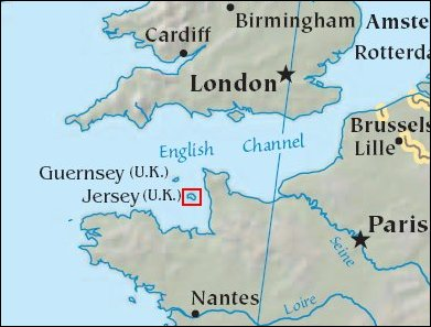 Larger Map of Jersey