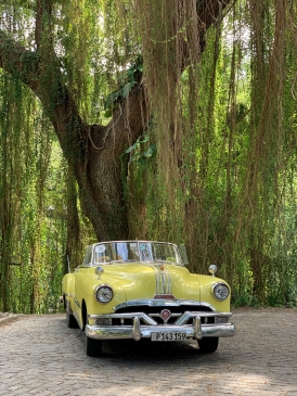 Cuban old time car Photo by Janice Kwan