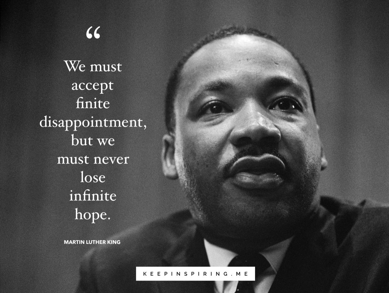 MLK hope quote